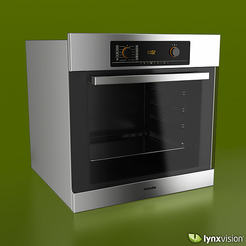Miele Single Electric Oven 3d Cgtrader