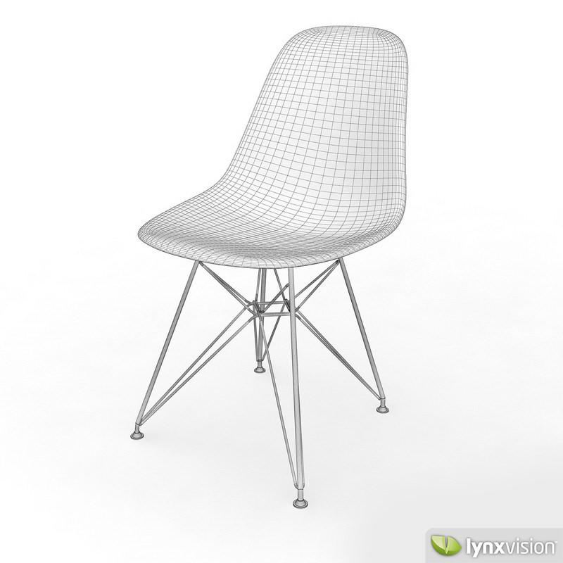 ... Dsr Chair By Vitra 3d Model Max Obj 3ds Fbx Mtl 3