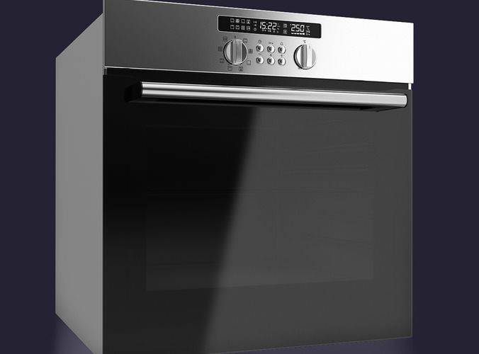 Built-in Single Electric Oven3D model