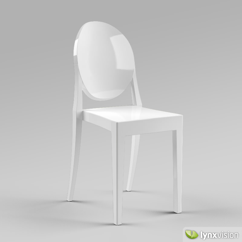Victoria Ghost Chair By Philippe Starck 3D Model Max Obj 3ds Fbx CGTrad
