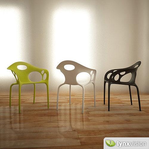 supernatural armchair by lovegrove 3d model max obj mtl 3ds fbx 1