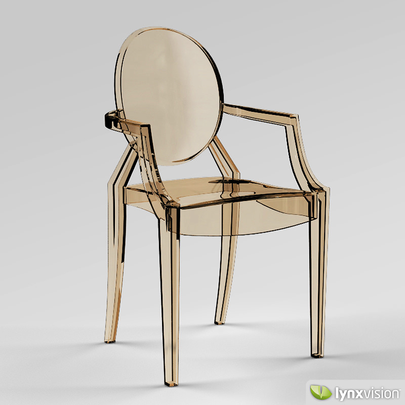 3D Louis Ghost Armchair by Philippe Starck | CGTrader