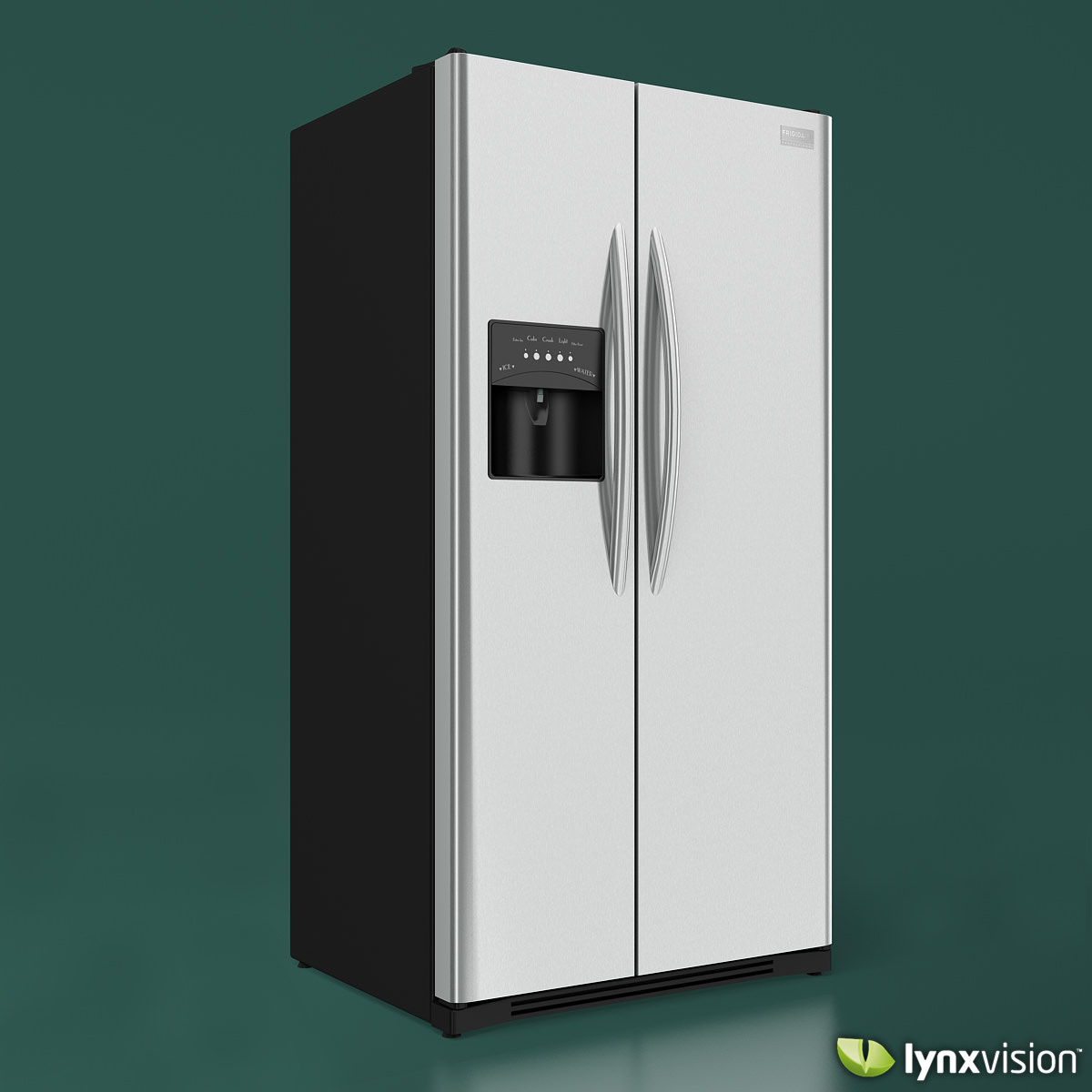 Frigidaire Professional Refrigerator 3D Model .max .obj .fbx ...
