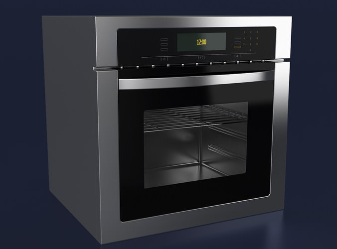 Touch Control Oven3D model