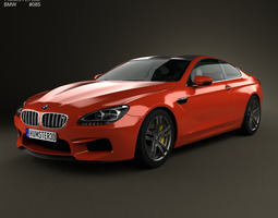 BMW M6 Coupe F13 2013 3D Model