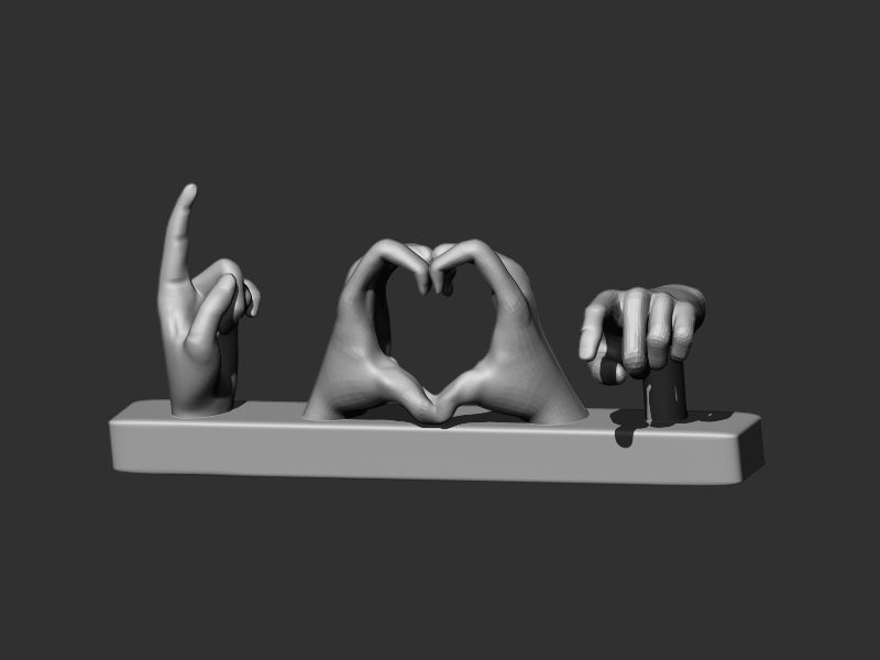 Love u Hand Gestures
