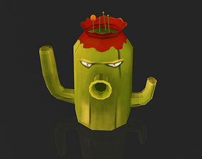 3D asset Creative Cactus Plant