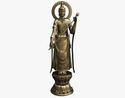 3d model bodhisattva buddha statue