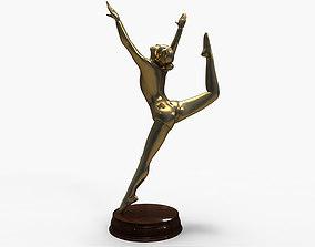 3D Models Gymnastics Bronze Statue