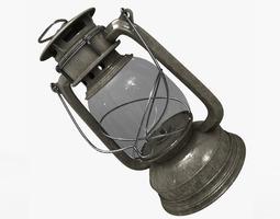 3D Models Oil Lantern 3D Model