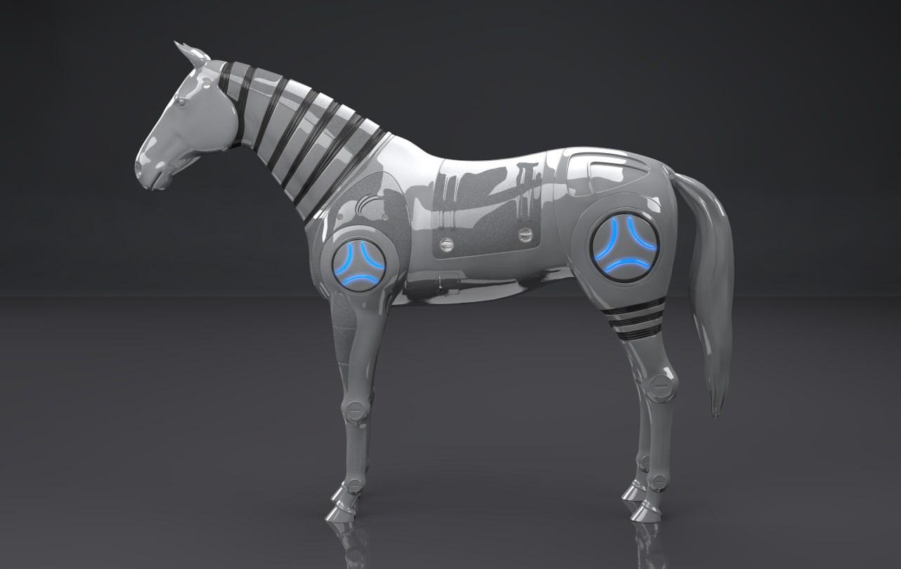 robot horse Animals - Mammal 3D Models- CGTrader.com