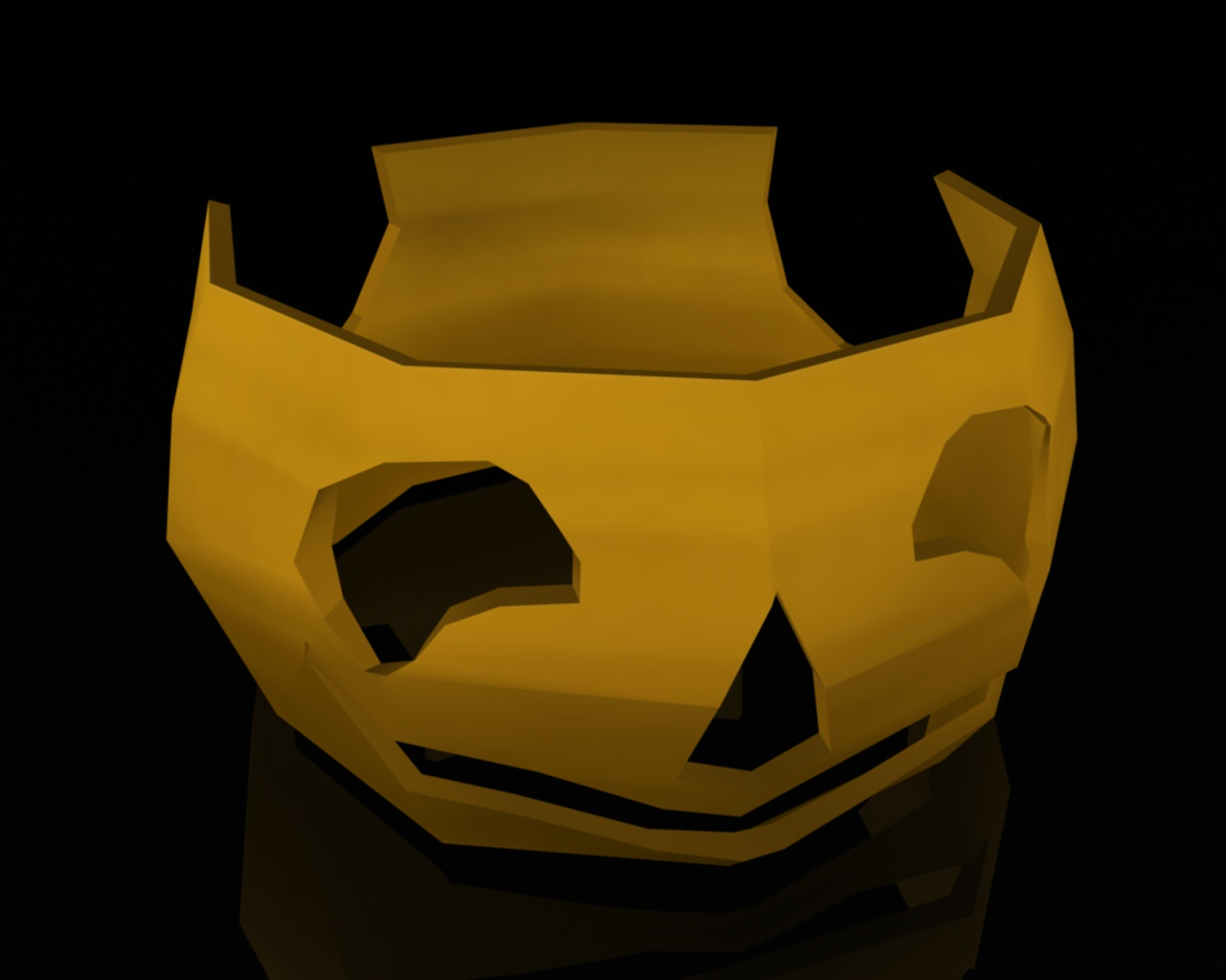 Creative Pumpkin Character 3D Model .max .obj .3ds .fbx .ma .mb
