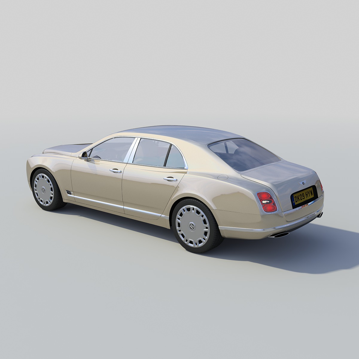 Bentley Price 2015: Bentley Mulsanne 2011 3D Model .max- CGTrader.com