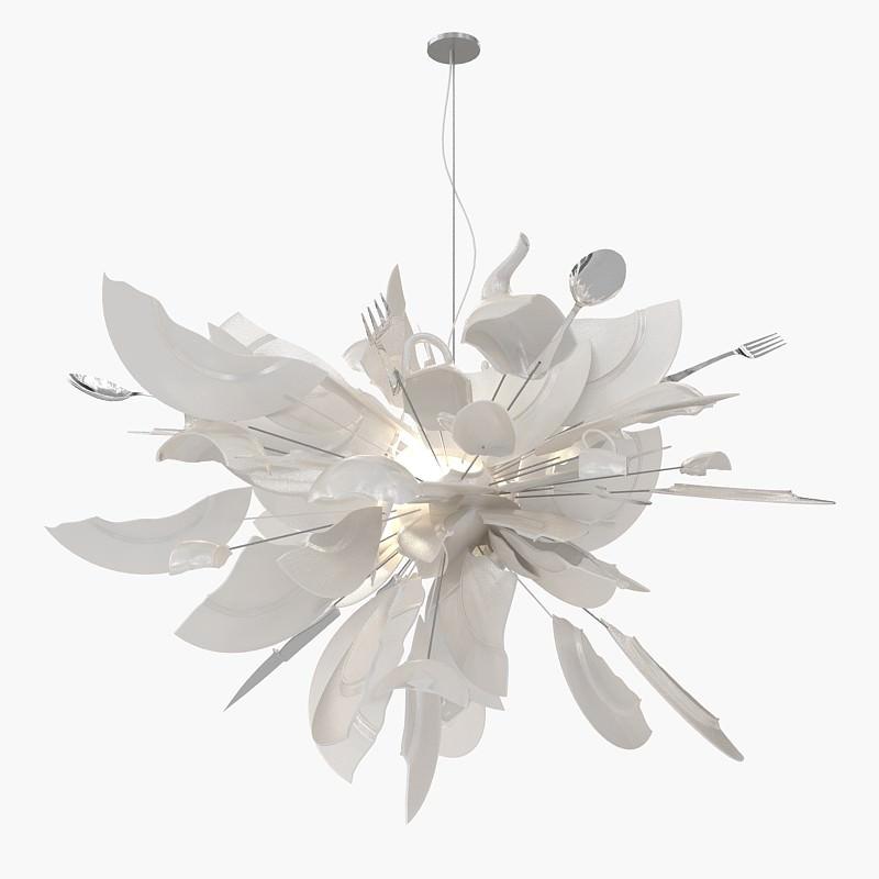 light ingo maurer porca miseria 3d model max. Black Bedroom Furniture Sets. Home Design Ideas