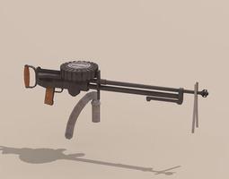 Lewis gun 3D Model
