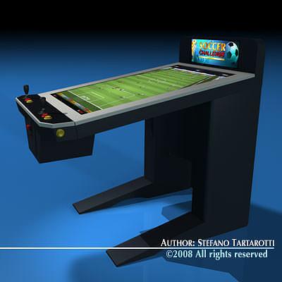 Great ... Videogame Cabinet 3d Model Obj 3ds C4d Dxf 4 ...