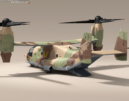 V-22 Osprey IAF 3D Model