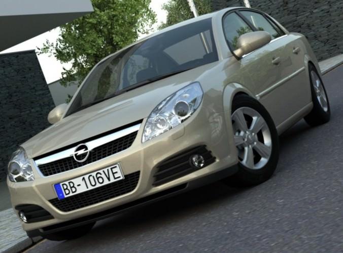 Opel Vectra 20063D model