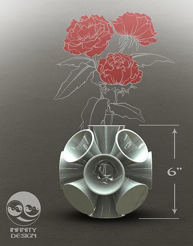 Funky Vase 3d Print Model Cgtrader