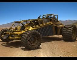 Desert Runner 3D Model