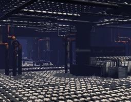 scifi lab 3d