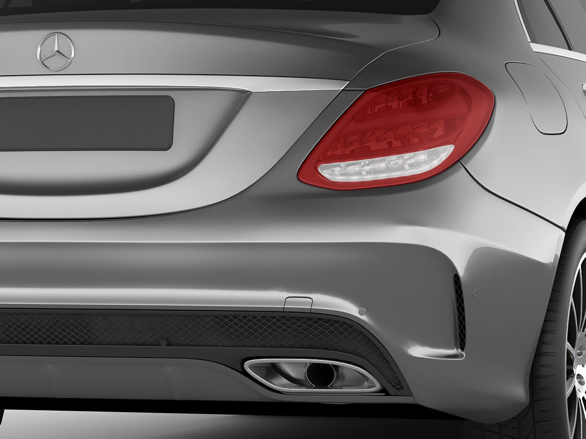 Mercedes C Class 2014 AMG line 3D Model MAX 3DS FBX C4D LWO LW LWS HRC XSI - CGTrader.com
