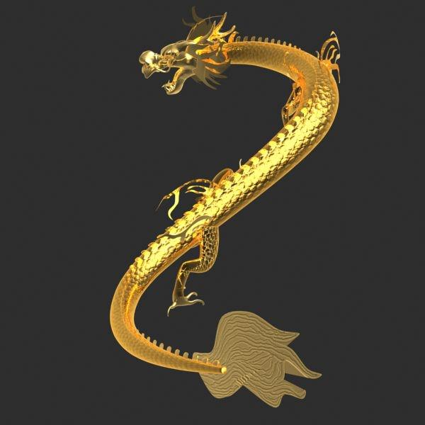 chinese dragon 3d model - photo #19