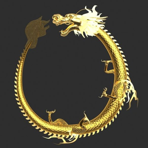 chinese dragon 3d model - photo #39