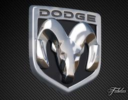 Dodge Emblem 3D Model