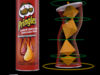Pringles Jamon Serrano Rigged 3D Model