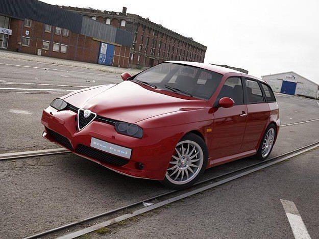 3D model Alfa Romeo 156 GTA Sportwagon  CGTrader