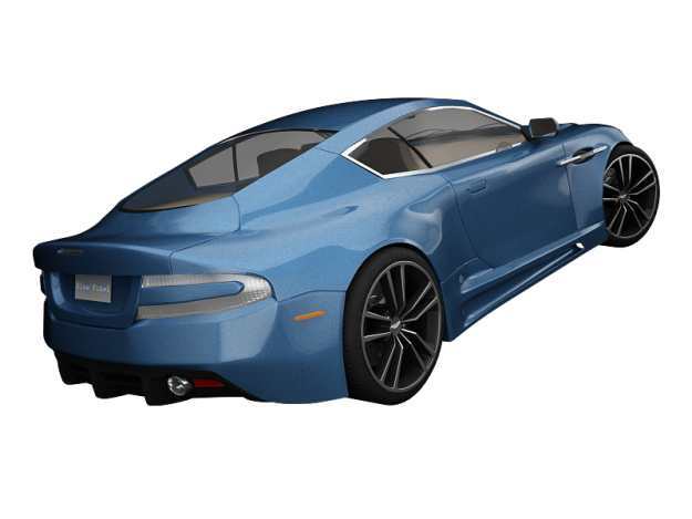 Aston Martin DBS 3D Model .max .obj .3ds
