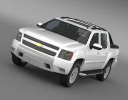 Chevrolet Avalanche Z71 3D Model