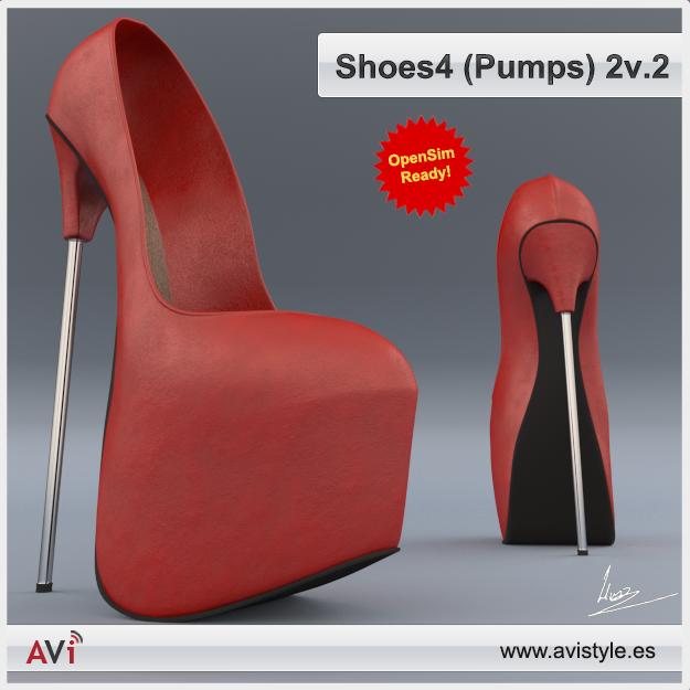 Shoe 4-2V2 Pumps