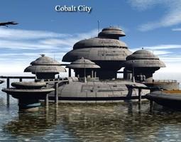 3D model Cobalt City