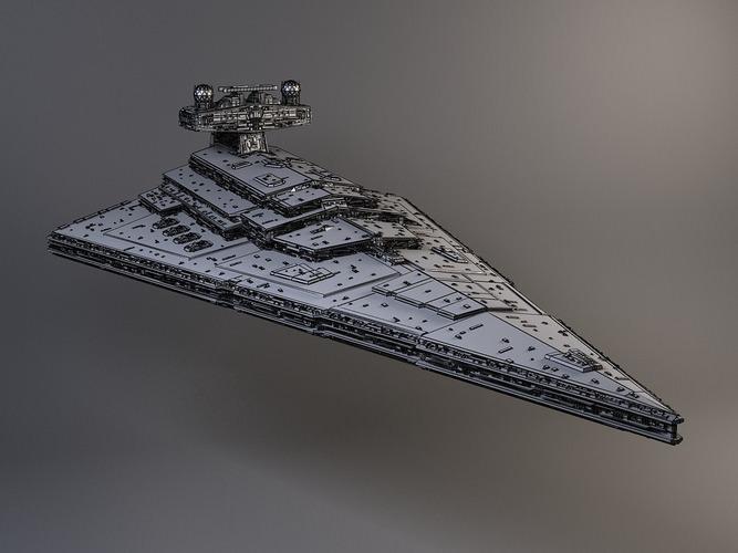 StarWars Star Destroyer3D model