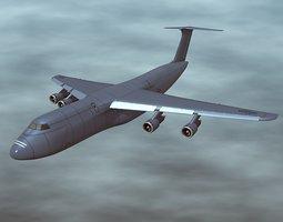 Lockheed Galaxy C5 military aircraft 3D Model