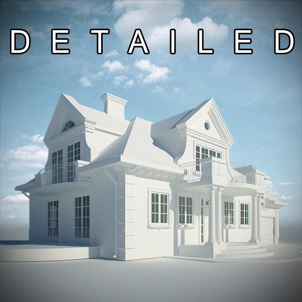 Classic Residence House   3D model
