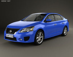 Nissan Sentra SR 2013 3D