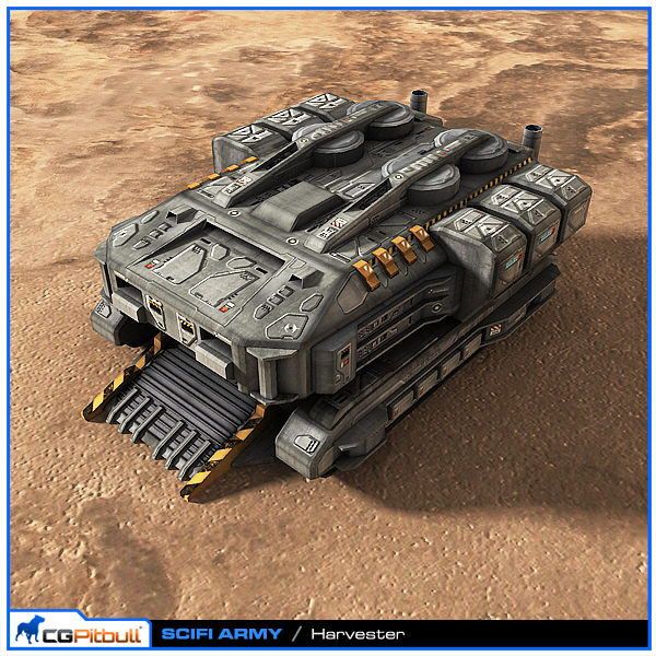 SciFi Army Harvester