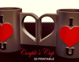 Couple s Cup 3D Model