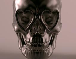 Love Skull 3D Model