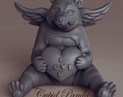 Cupid Panda 3D Model