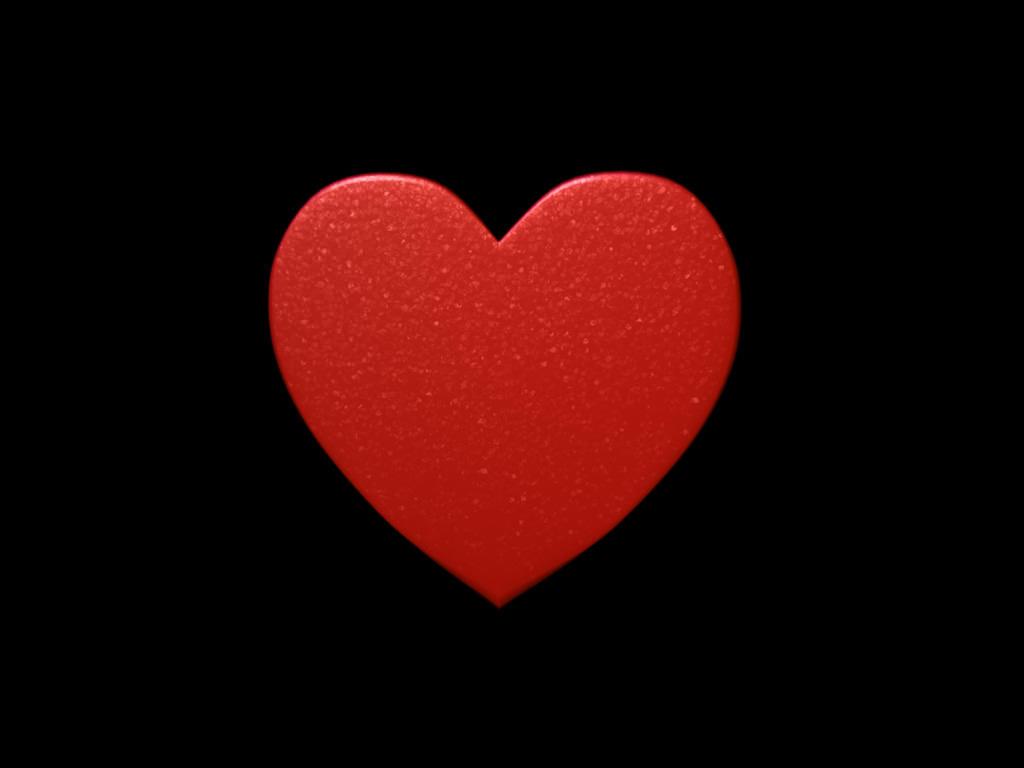Love Heart Free 3D Model 3D Printable .obj .ma .mb .wrl