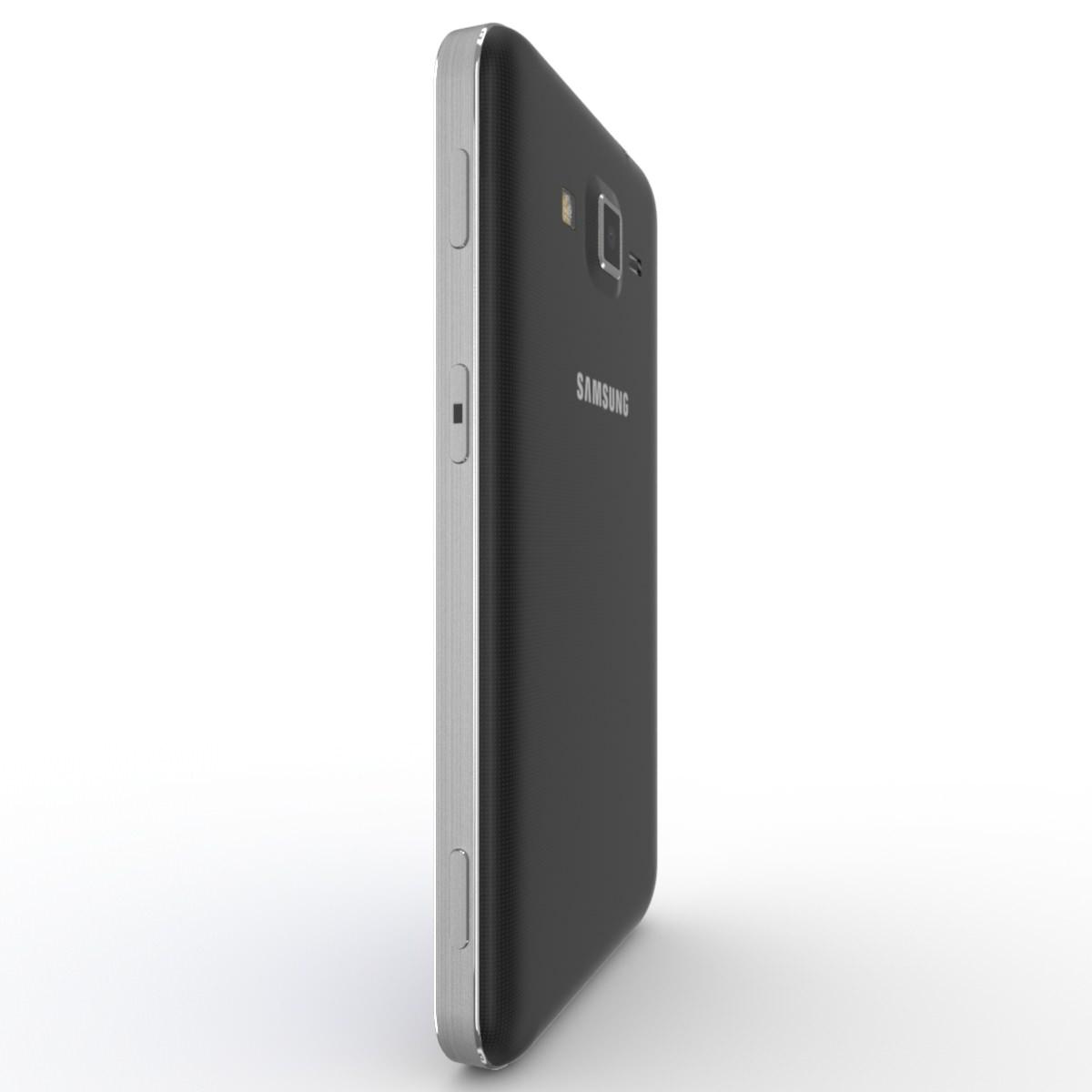 Samsung Galaxy Core Advance Black 3D Model MAX OBJ FBX