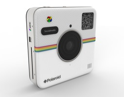 3d model polaroid socialmatic