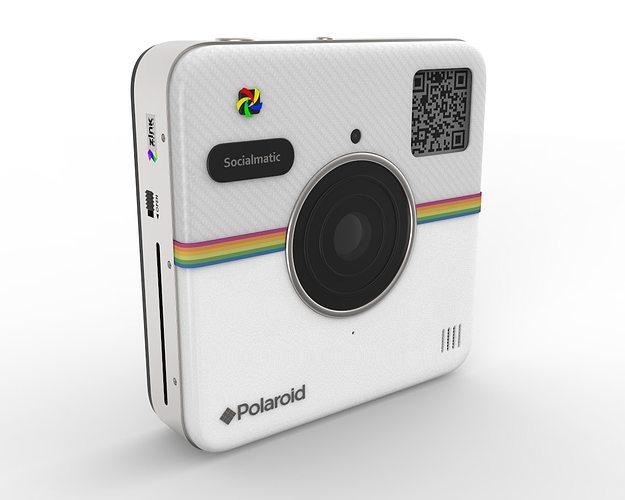polaroid socialmatic 3d model max obj 3ds fbx c4d mtl 1