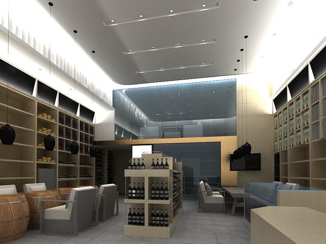 Modern living Room3D model