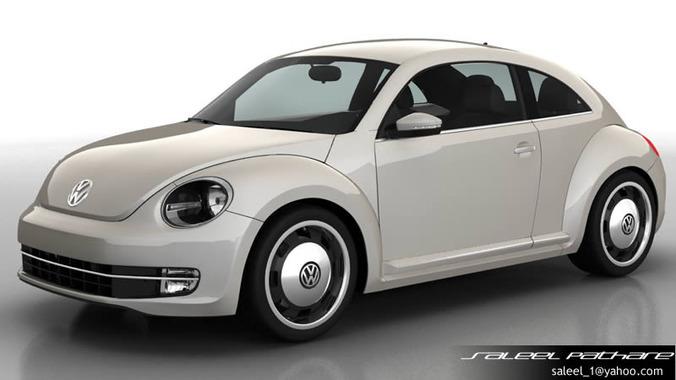 VW Beetle 20143D model
