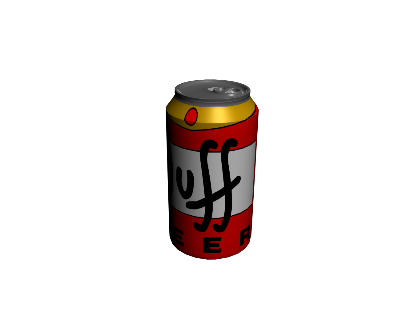 Blank Beer Can Png Drink beer can free 3D...